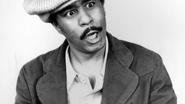Black Comedians: Richard Pryor's irreverent comedic style made him one of the top comics in the 1970s and 80s. He performed in clubs across the Midwest until he made his TV debut on the variety show On Broadway Tonight. Pryor was the first recipient of the Mark Twain Prize for American Humor from the Kennedy Center in 1998. He died of a heart attack on December 10, 2005.