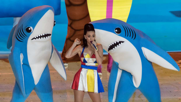 Katy Perry Super Bowl Halftime Photo