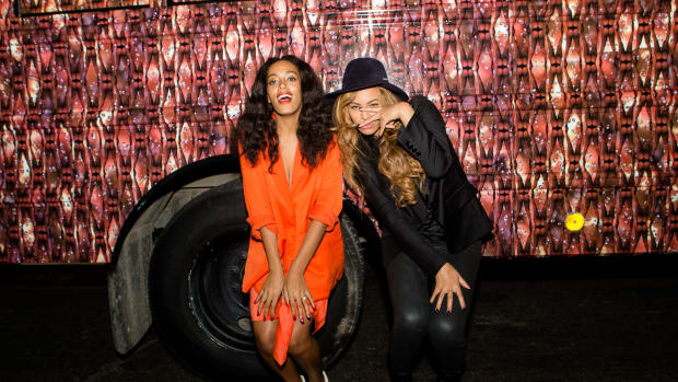 Solange Knowles and Beyonce Knowles