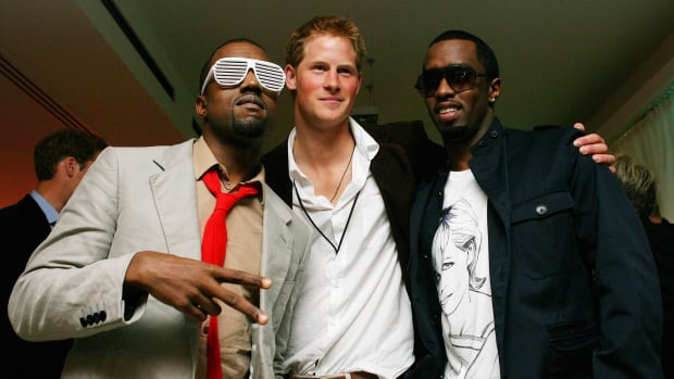 Prince Harry Kanye P. Diddy Photo