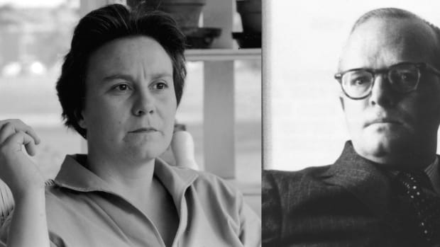 Harper Lee and Truman Capote