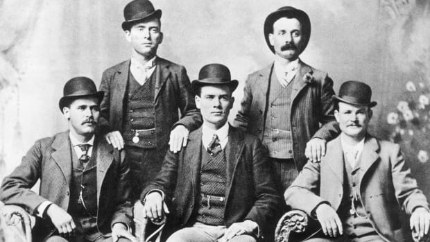 Butch Cassidy Bottom right (Photo by John Swartz:American Stock:Getty Images)