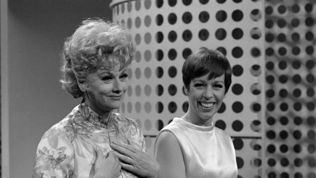 Lucille Ball and Carol Burnett