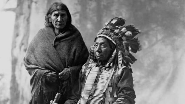 Red Cloud and his wife