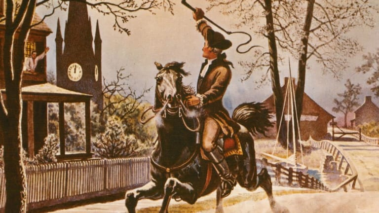 The Real Story of Paul Revere's Ride