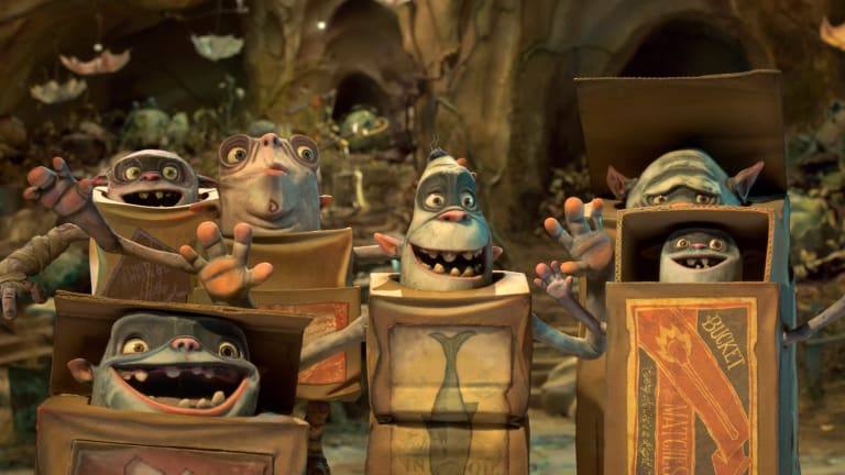 'The Boxtrolls': Ben Kingsley & Elle Fanning Say There's More to Them Than Meets the Eye