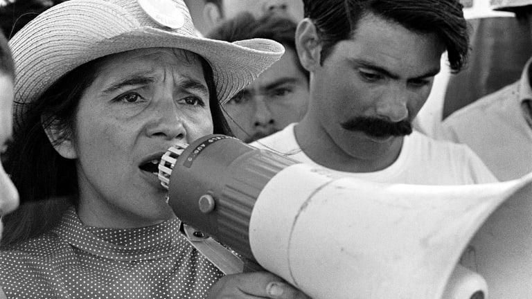 Civil Rights Icon Dolores Huerta & Filmmaker Peter Bratt Discuss New Doc 'Dolores' (INTERVIEW)