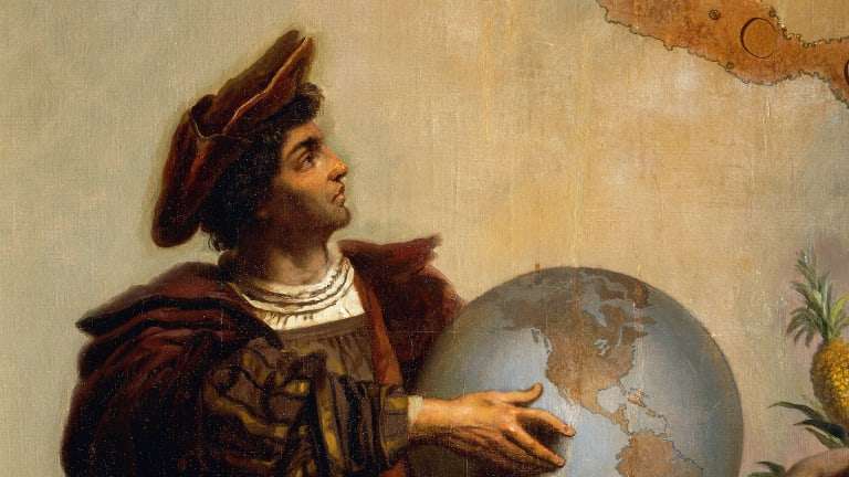 What Was Christopher Columbus' Heritage?