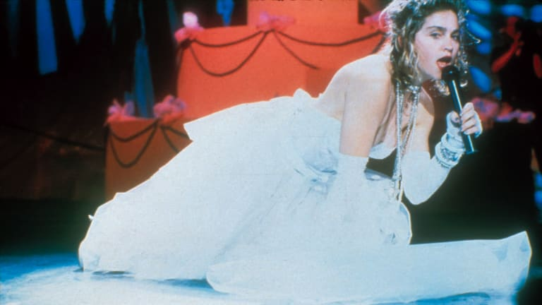 Madonna's Now-Famous 'Like a Virgin' Performance Was Thanks to a Wardrobe Malfunction