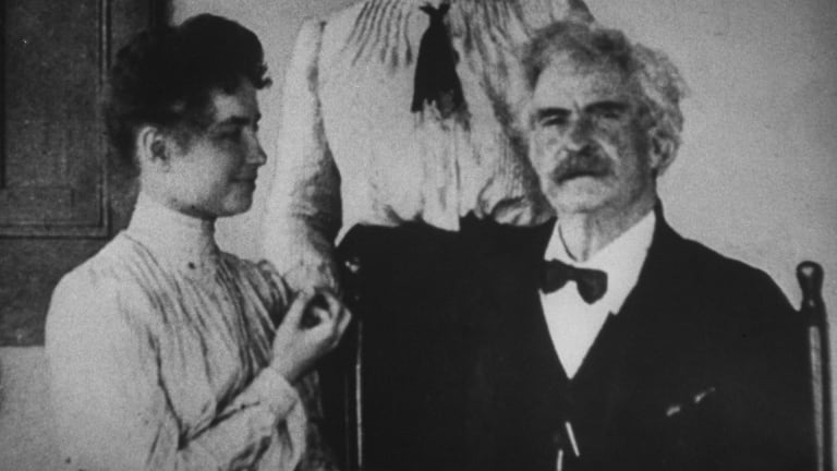 Helen Keller and Mark Twain Had an Unlikely Friendship That Spanned More Than a Decade