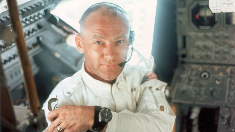 Buzz Aldrin Battled Depression and Alcohol Addiction After the Moon Landing