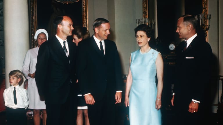 Queen Elizabeth II and the Apollo 11 Astronauts Had an Awkward Encounter After the Moon Landing