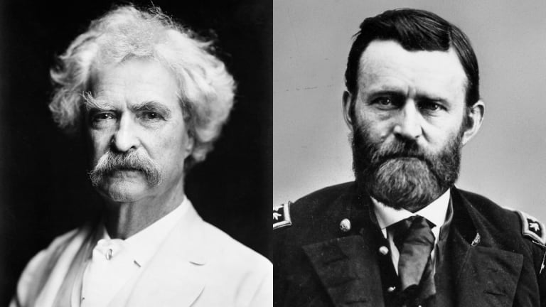 The Unlikely Friendship of Mark Twain and Ulysses S. Grant