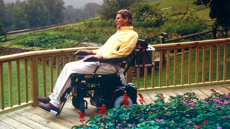 How Christopher Reeve Took Control of His Life After a Horseback Riding Accident Left Him Paralyzed