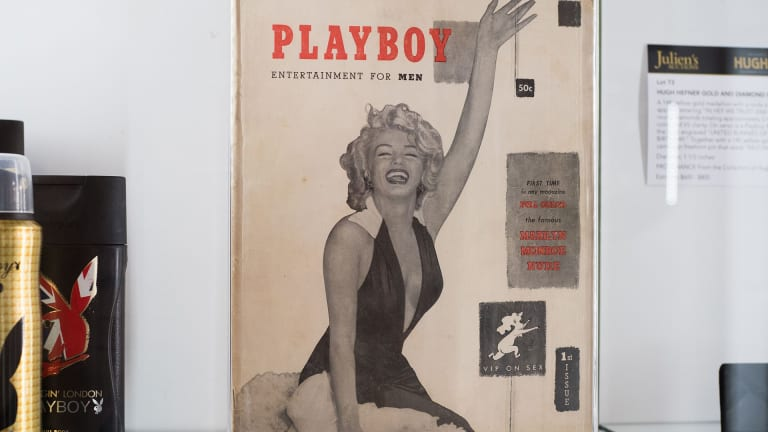 Marilyn Monroe Didn't Actually Pose for the First Issue of 'Playboy'