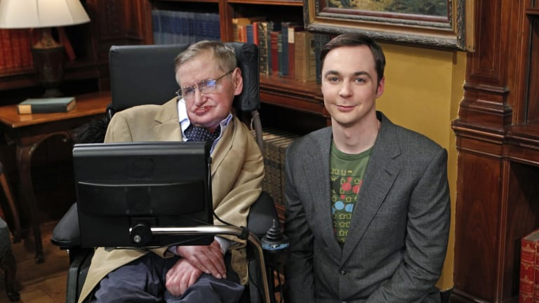 Stephen Hawking's Best Pop Culture Moments