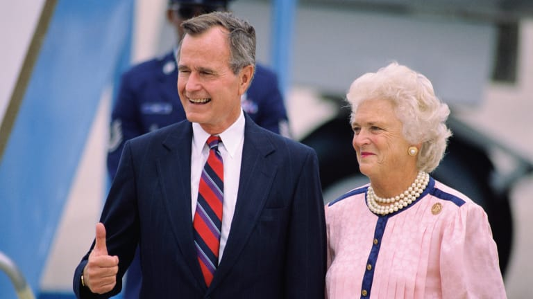 George H.W. and Barbara Bush's Amazing Love Story