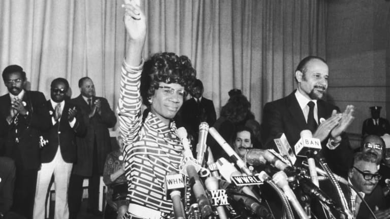 Shirley Chisholm and the 9 Other First Black Women in Congress