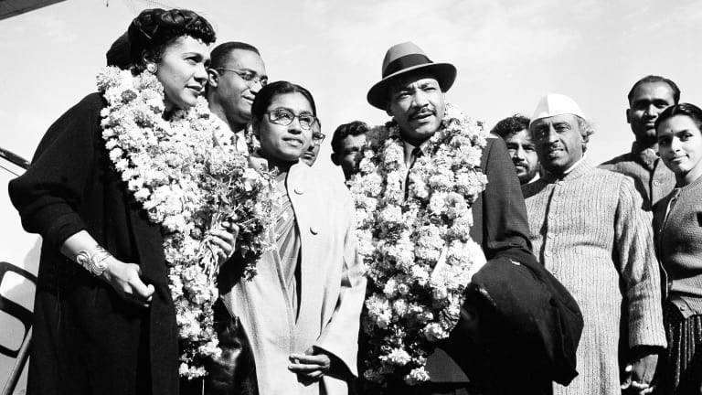 How Martin Luther King Jr. Took Inspiration From Gandhi on Nonviolence