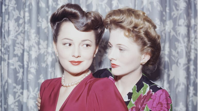 The Lifelong Feud Between the Sisters Olivia de Havilland and Joan Fontaine