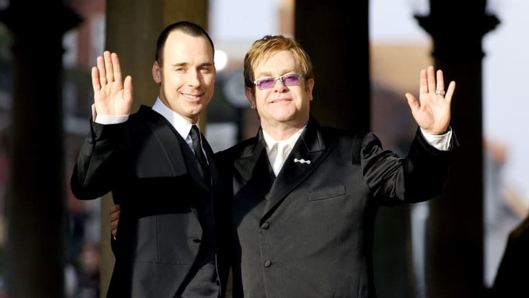 Inside Elton John and David Furnish's Love Story