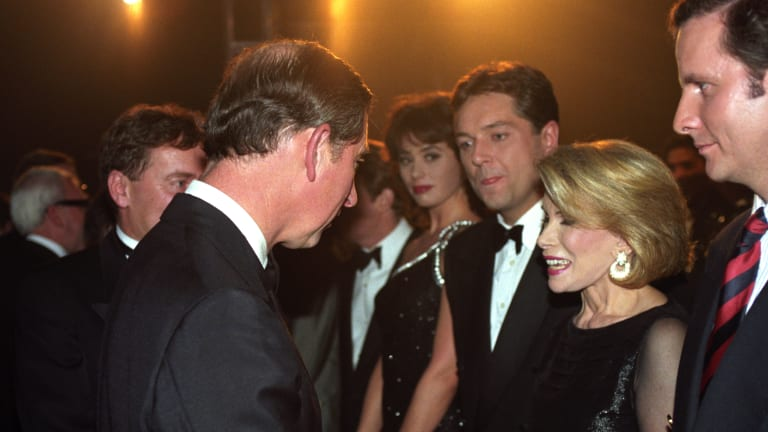 The Surprising Friendship Between Joan Rivers and Prince Charles