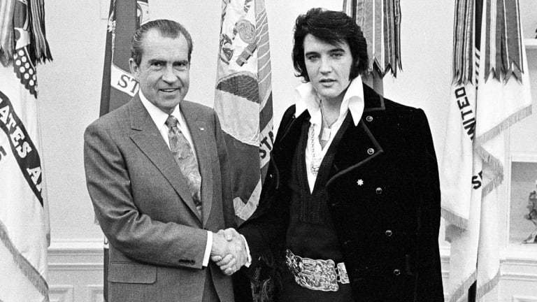 Elvis Presley and Richard Nixon: The Story Behind Their Famous Handshake Photo