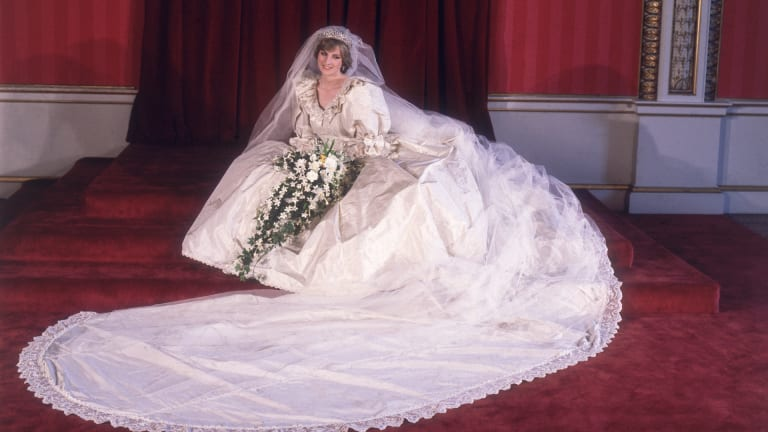 Princess Diana's Wedding Dress: All The Details About the Royal's Iconic Gown