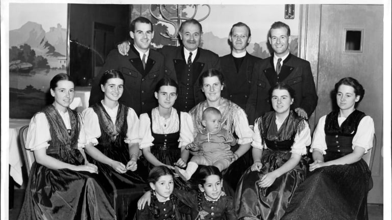 The von Trapps: The Real Family That Inspired 'The Sound of Music'