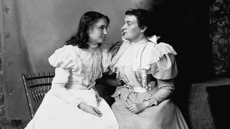 Anne Sullivan Found 'the Fire of a Purpose' Through Teaching Helen Keller