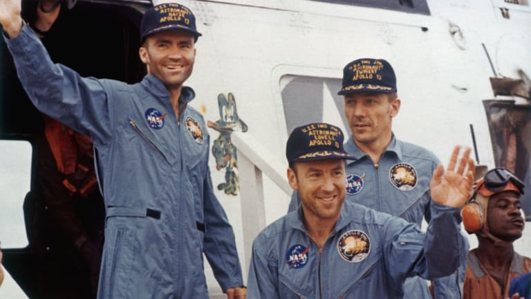 'Apollo 13': The Real-Life Astronauts Portrayed in the Movie