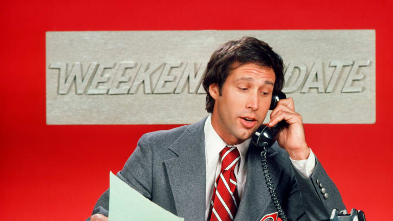 "How Chevy Chase Helped Create 'Saturday Night Live's' ""Weekend Update"""