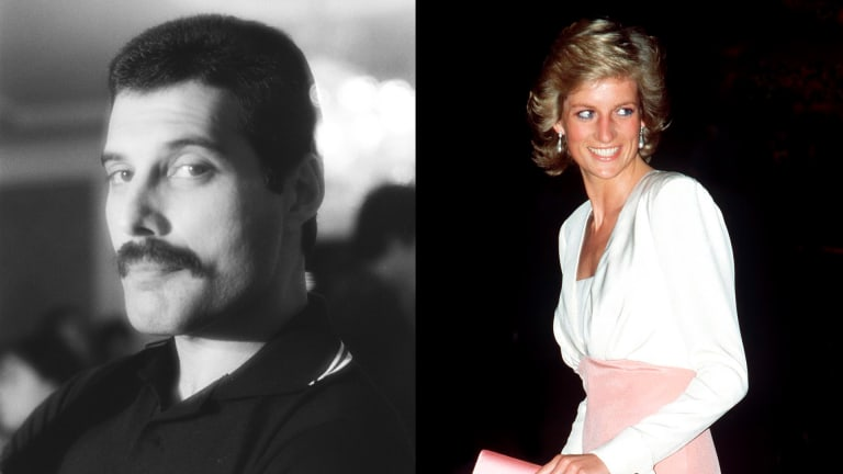Freddie Mercury Once Snuck Princess Diana Into a Gay Club — Without Getting Caught