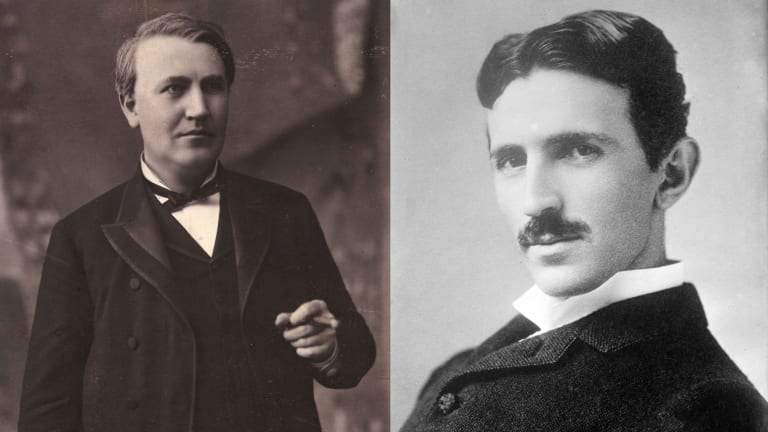 Why Thomas Edison and Nikola Tesla Clashed During the Battle of the Currents