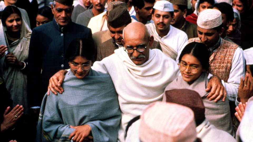 reaction paper on gandhi movie - the movie gandhi begins with a very compelling scene with the foreshadowing of gandhi's assassination - the achievement of mahatma gandhi the purpose of this paper is to analyze the achievement of its all one big chain reaction one person says something about another person.
