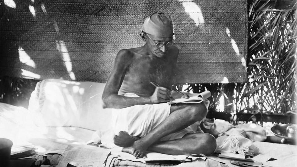 Gandhi's Surprising Letters to Hitler Pleading for Peace