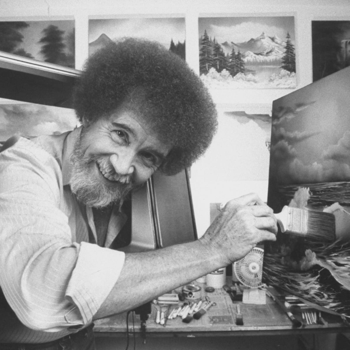 How Bob Ross Time In The Air Force Inspired His Paintings Biography