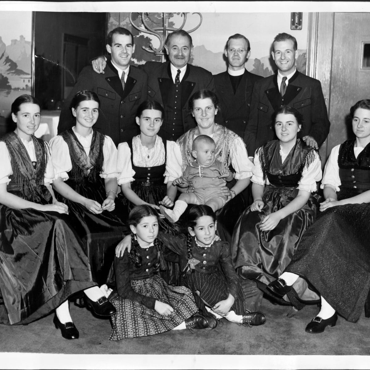 The Von Trapps The Real Family That Inspired The Sound Of Music Biography