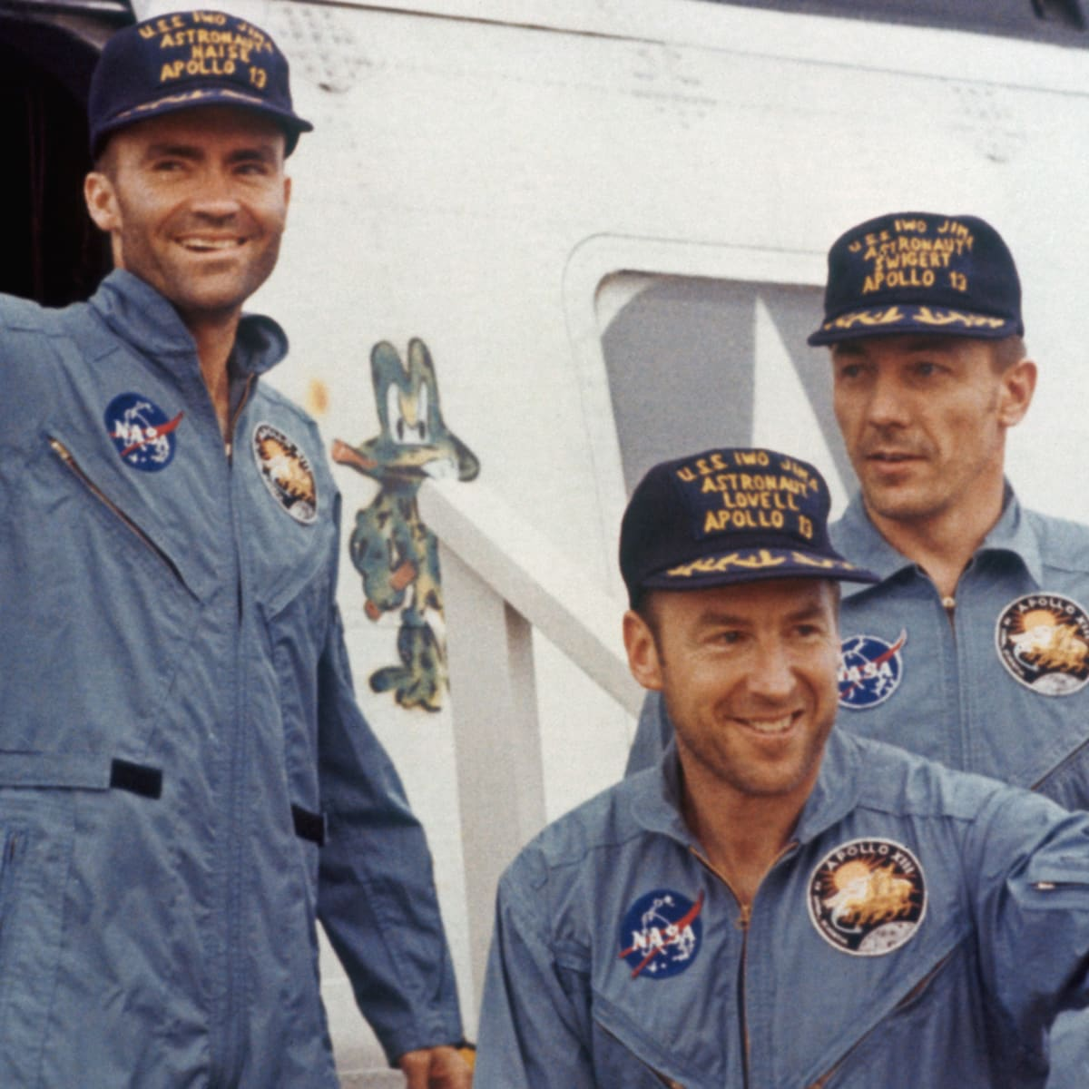 Apollo 13 The Real Life Astronauts Portrayed In The Movie