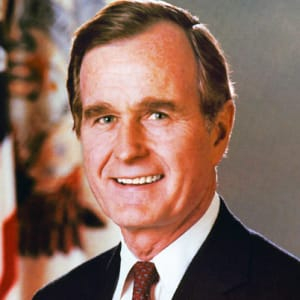 George H W Bush Age Family Cause Of Death Biography