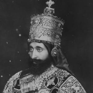 Haile Selassie I - Italy, Death & Family - Biography