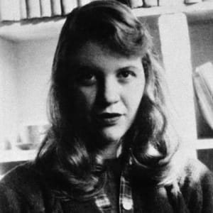 sylvia plath editor author academic poet biography