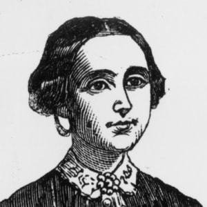 1853 : Amelia Bloomer Lectures on Women's Rights at Detroit's Firemen's Hall