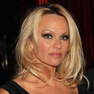 Actress Pamela Anderson on facebook