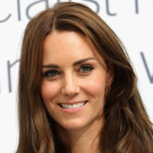 Kate Middleton  - 2019 Regular brown hair & formal hair style.