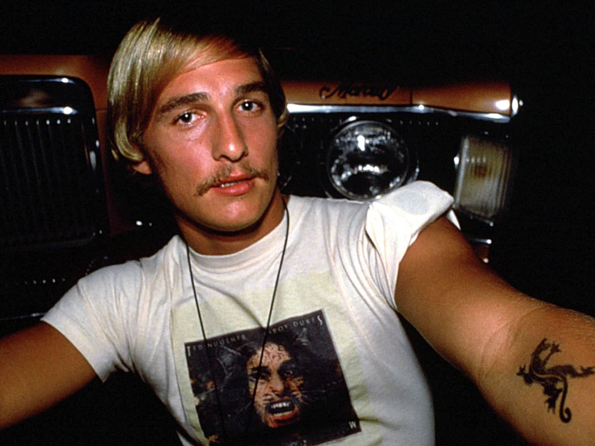 Matthew Mcconaughey The Chance Encounter That Led To His Breakout Role In Dazed And Confused Biography