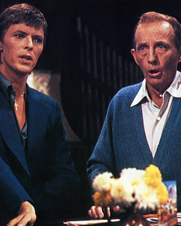 David Bowie: It was definitely a holiday to remember when crooner Bing Crosby and rock star David Bowie performed Little Drummer Boy for Crosby's Christmas special in 1977.