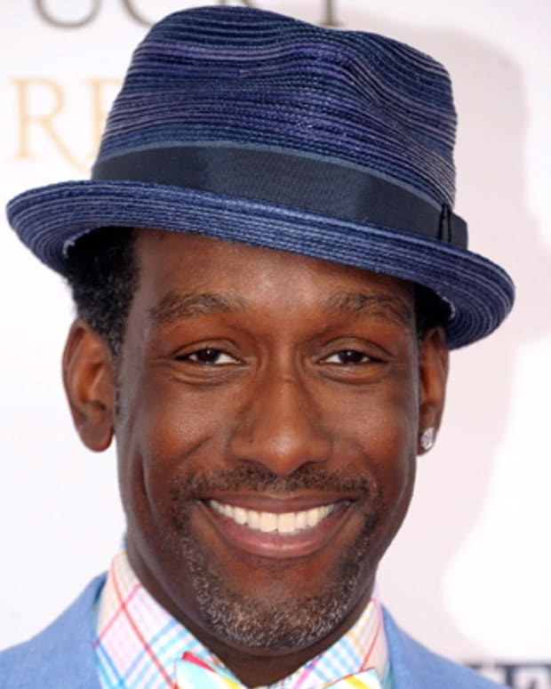 LOUISVILLE, KY - MAY 05:  Singer Shawn Stockman of Boyz II Men attends the 138th Kentucky Derby at Churchill Downs on May 5, 2012 in Louisville, Kentucky.  (Photo by Michael Loccisano/Getty Images)