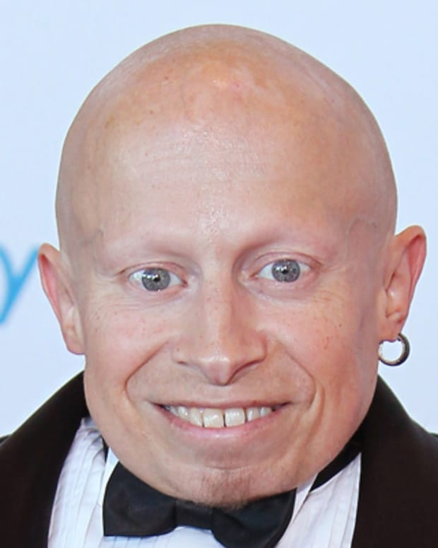 ST. PAUL, MN - JULY 24:  Actor Vern Troyer attends the Starkey Hearing Foundation's 'So The World May Hear Awards Gala' 2011 at River Centre on July 24, 2011 in St. Paul, Minnesota. (Photo by Adam Bettcher/Getty Images for Starkey Hearing Foundation)