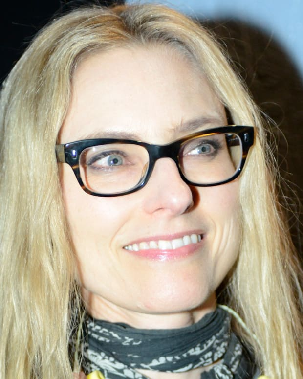 SAN FRANCISCO, CA - FEBRUARY 27: Aimee Mann poses during Petty Fest at The Fillmore on February 27, 2013 in San Francisco, California. (Photo by Tim Mosenfelder/Getty Images)